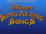 Astrid and Tomira's Adventures of Disney Sing Along Songs Intro 1