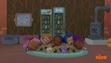 Bubble Guppies (Molly, Nonny, Gil, Goby and Zooli) sleeping