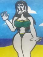 Emily's bikini by JoshuatheFunnyGuy