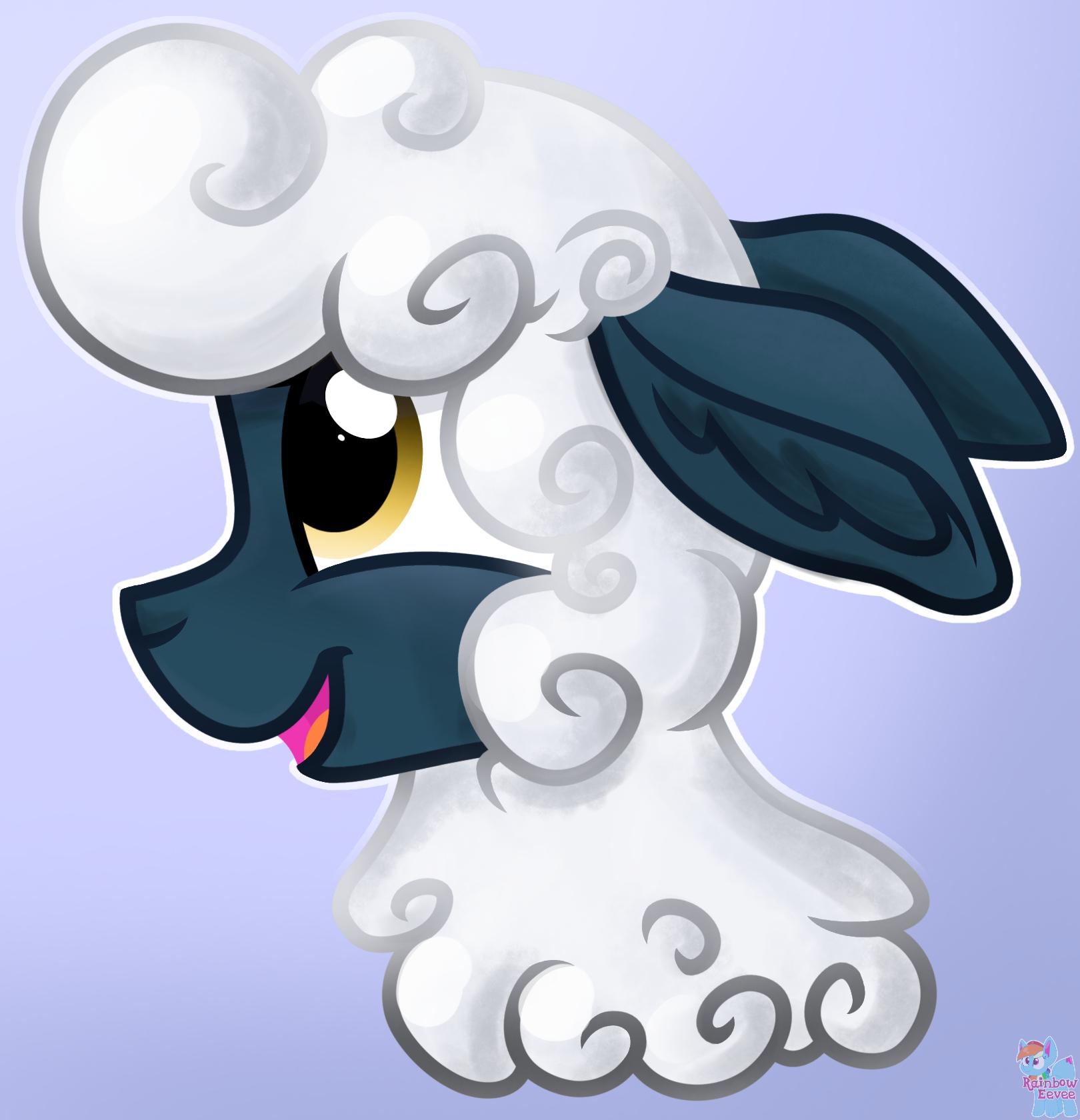 Happy sheep by Rainbow Eevee.png