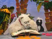 Jake the Polar Bear crying in Jim Henson's Animal Show: Zebra & Lion