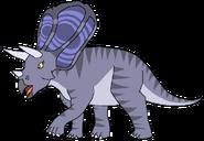 Karita Spacebot torosaurus form dinosaur in thespacebotsadventuresseries