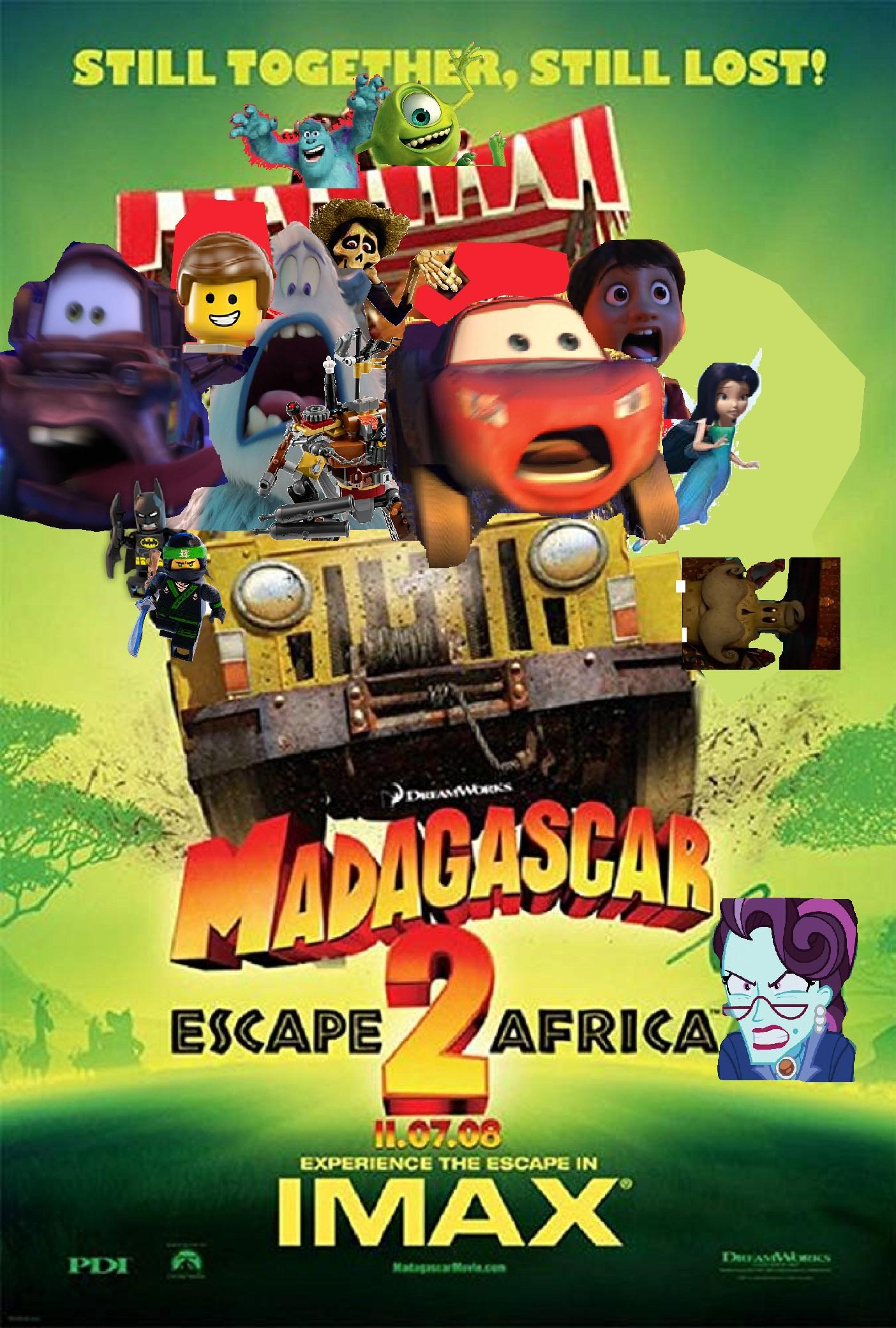 Madagascar Escape 2 Africa Luis Alberto Videos Galvan Ponce Style The Parody Wiki Fandom