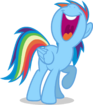 Mlp fim rainbow dash singing vector by luckreza8 d9ppwbq-pre