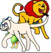 Stanley and Joy as Simba and Nala