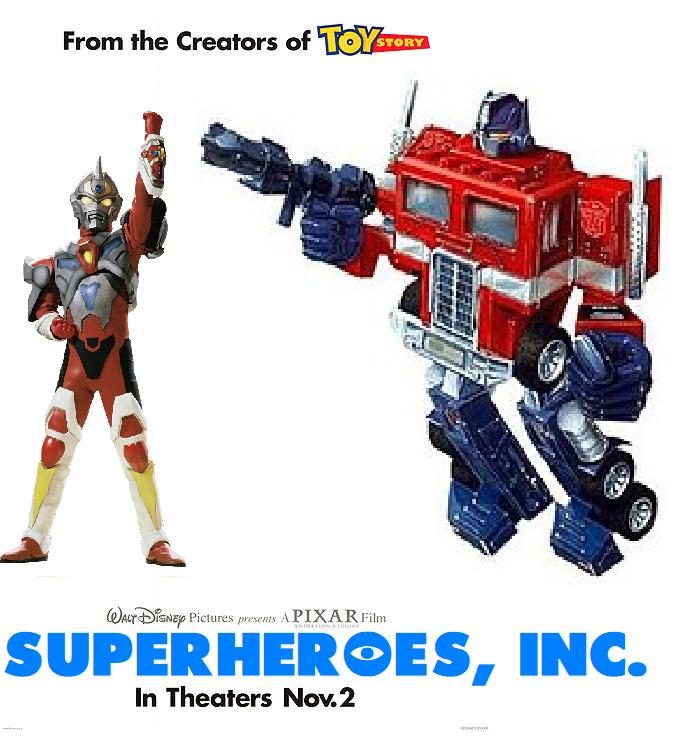 Superheroes, Inc. (Vinnytovar Style)