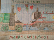 Thomas x emily under the mistletoe thomily contest by hamiltonhannah18 ddlk4eo-fullview