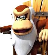 Cranky Kong in Donkey Kong Country Returns