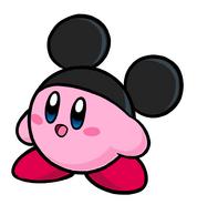 Kirby Micky Mouse
