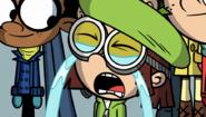 Lisa cries