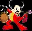 Mickey Mouse as Mushu
