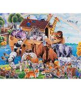 Noah's Ark Sheep Mice Chickens Sheepdogs Ducks Geese Cattle Donkeys Cats Pigs Turkeys Elephants