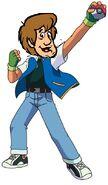 Shaggy as Ash Ketchum