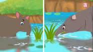 Tapir vs the Moeritherium Elephant