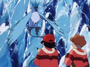 Ash and Todd meet Articuno