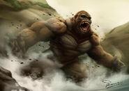Kong skull island by chaosartstudio db9awc6-fullview