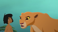 Mowgli argues with kiara