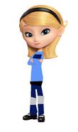 Penny as Judy Hopps
