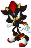 Sonicheroes shadow early