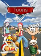 Toons (Cars) (Gabriel Adam Pictures Style) Movie Poster