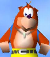 Banjo in Diddy Kong Racing