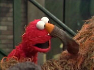 Elmo as Snuffy in episode 2986