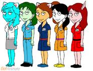 Rainbow Factory Cast