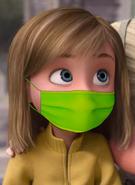 Riley Andersen Wearing Face Mask