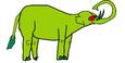Beast Boy as an Asian Elephant