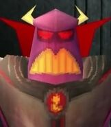 Emperor Zurg in Toy Story 2- Buzz Lightyear to the Rescue