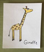 Giraffe Begins With G