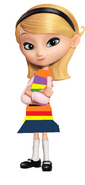 Penny in Riley´s outfit