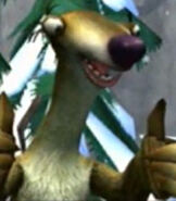Sid in Ice Age Dawn of the Dinosaurs (Video Game)