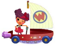 Storm E. Sky Riding the Wonder Pets Flyboat