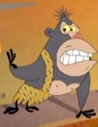 Tarzanized Ape