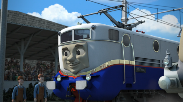 Etienne the French Electric Engine