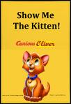 Curious Oliver (Curious George) Parody poster