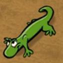 Lizard in hugo lek och lar 1 den magiska eken