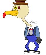 Mr Delbert Vult-R (Doorman) (stick)