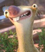 Sid in Ice Age Collision Course