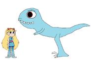 Star meets Velociraptor