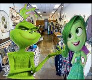 The Grinch and Disgust