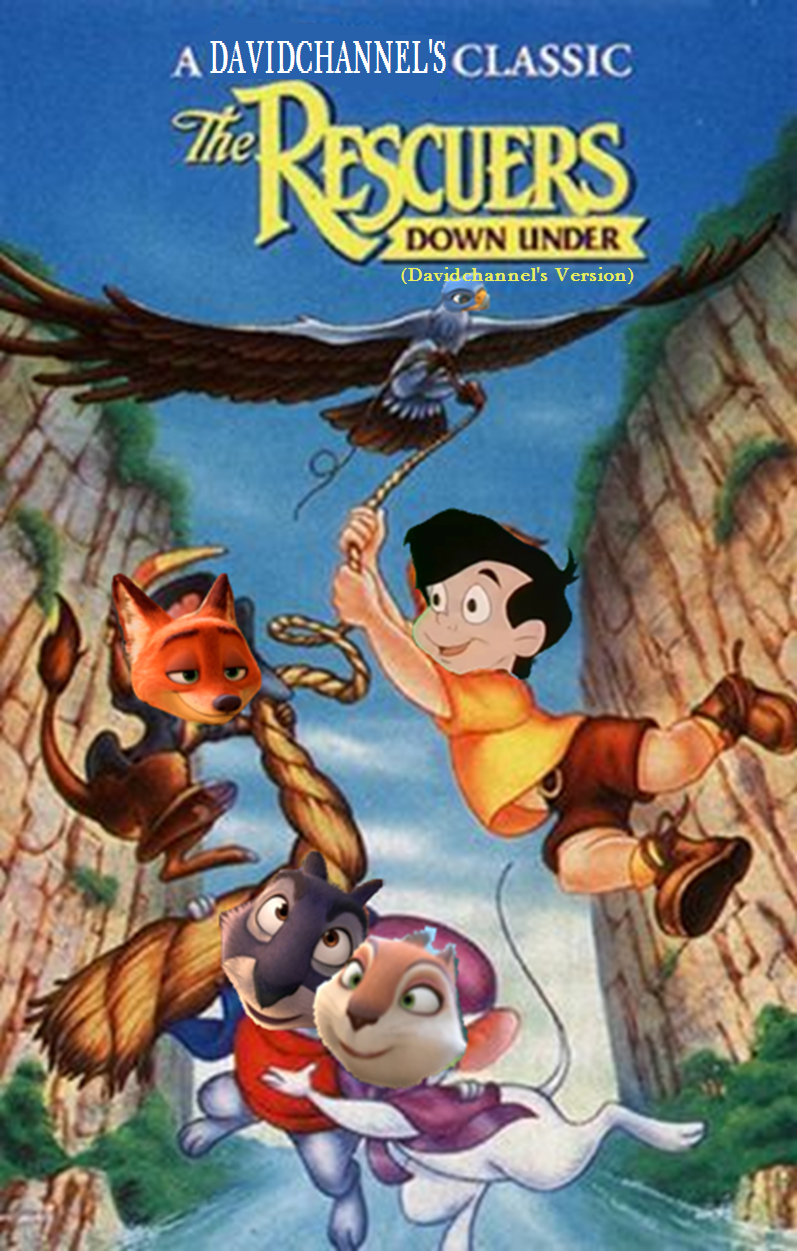 Closing to The Rescuers Down Under (Davidchannel's Version) 1991 VHS
