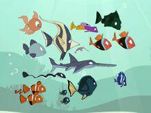 The curious fish followed Grand Minimus, Teensy Queen and Riley's friends inside his car.jpg