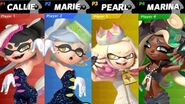 Callie, Marie, Pearl and Marina