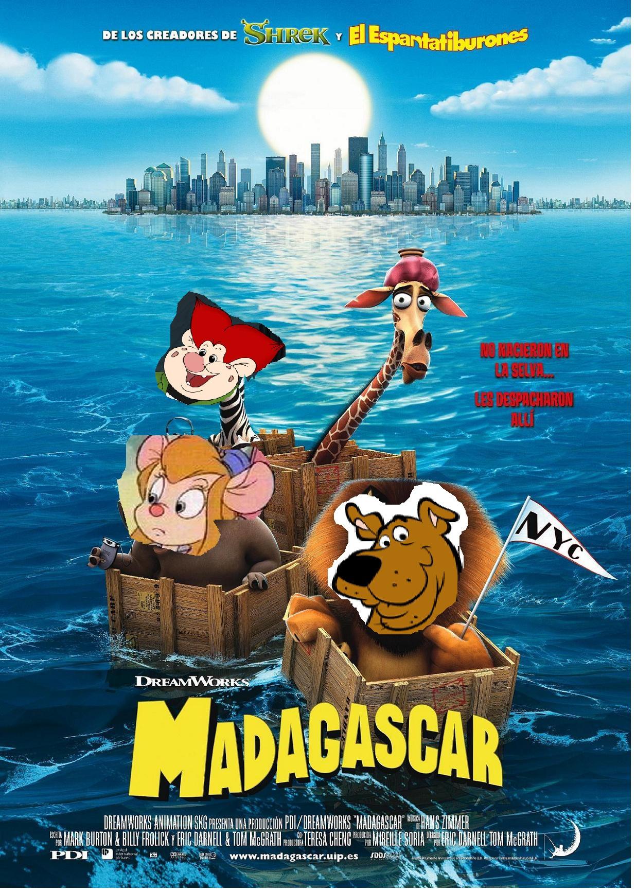 Madagascar (DinosaurKingRockz Style)
