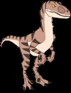 Martell the Velociraptor