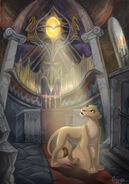 Nala in the temple