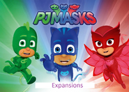 PJ Masks Expansions Logo by TheGothEngine