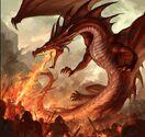 Red European Dragon (V2)